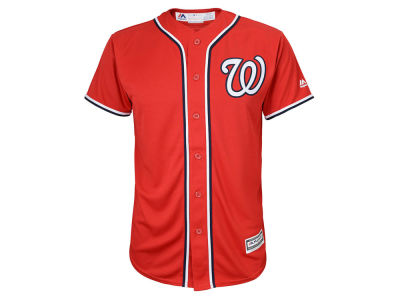 Washington Nationals Majestic MLB Youth Blank Replica Jersey