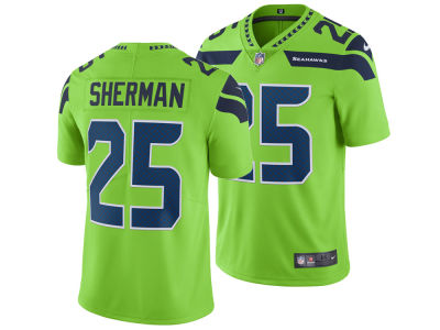 Seattle Seahawks Richard Sherman Nike NFL Men's Limited Color Rush Jersey