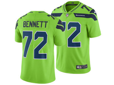 Seattle Seahawks Michael Bennett Nike NFL Men's Limited Color Rush Jersey