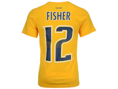 Nashville Predators Mike Fisher Reebok NHL Men's Player T-Shirt
