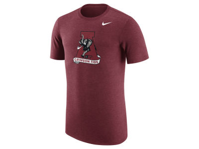 Alabama Crimson Tide Nike NCAA Men's Vault Logo Tri-Blend T-Shirt