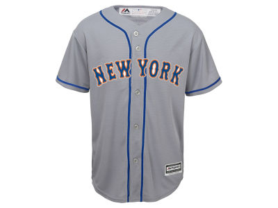 New York Mets Majestic MLB Youth Blank Replica Jersey