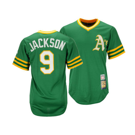 Oakland Athletics Reggie Jackson MLB Youth Cooperstown Player Jersey