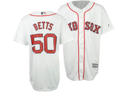 Boston Red Sox Mookie Betts MLB Youth Player Replica CB Jersey