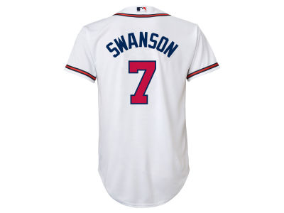 Atlanta Braves Dansby Swanson MLB Youth Player Replica CB Jersey
