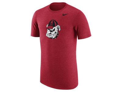 Georgia Bulldogs Nike NCAA Men's Vault Logo Tri-Blend T-Shirt