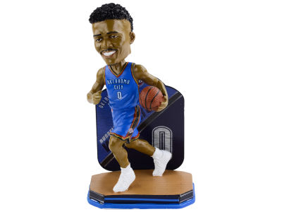 Oklahoma City Thunder Russell Westbrook Forever Collectibles Name & Number Bobblehead