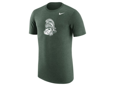 Michigan State Spartans Nike NCAA Men's Vault Logo Tri-Blend T-Shirt