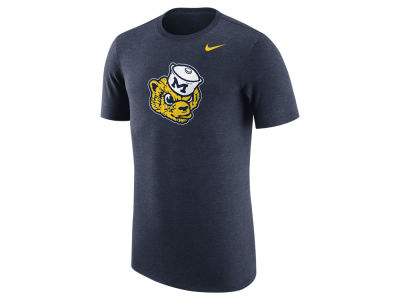 Michigan Wolverines Nike NCAA Men's Vault Logo Tri-Blend T-Shirt