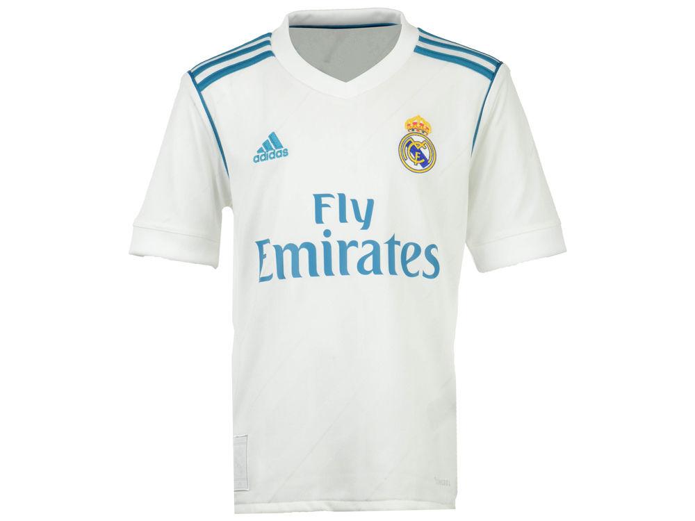 4f919bf7e Real Madrid adidas Club Team Youth Home Stadium Jersey