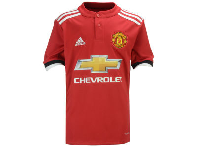 Manchester United adidas Club Team Youth Home Stadium Jersey