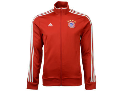 Bayern Munich adidas Club Team 3 Stripes Track Jacket