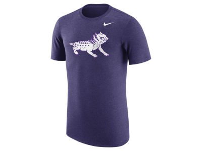 Texas Christian Horned Frogs Nike NCAA Men's Vault Logo Tri-Blend T-Shirt