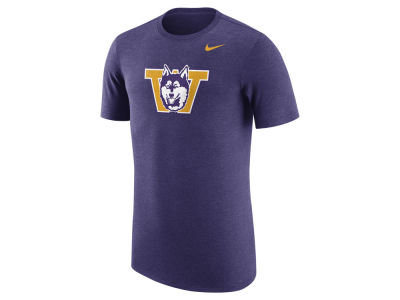 Washington Huskies Nike NCAA Men's Vault Logo Tri-Blend T-Shirt