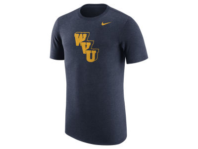 West Virginia Mountaineers Nike NCAA Men's Vault Logo Tri-Blend T-Shirt