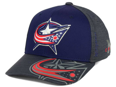 Columbus Blue Jackets Reebok 2017 NHL Playoff Flex Cap