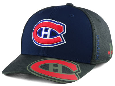 Montreal Canadiens Reebok 2017 NHL Playoff Flex Cap
