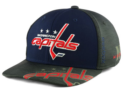 Washington Capitals Reebok 2017 NHL Playoff Flex Cap
