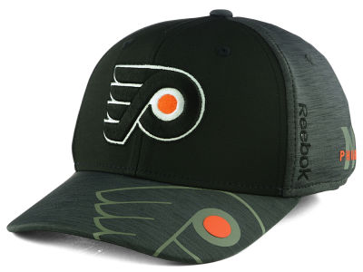Philadelphia Flyers Reebok 2017 NHL Playoff Flex Cap