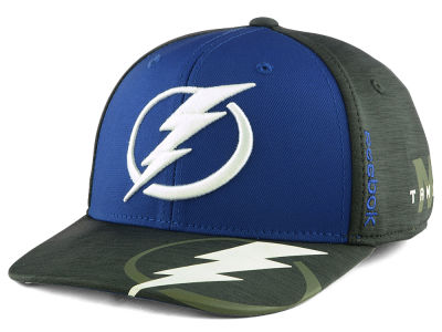 Tampa Bay Lightning Reebok 2017 NHL Playoff Flex Cap