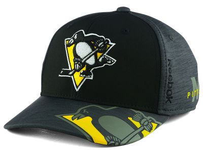 Pittsburgh Penguins Reebok 2017 NHL Playoff Flex Cap