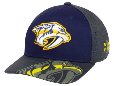 Nashville Predators Reebok 2017 NHL Playoff Flex Cap