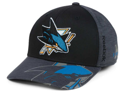 San Jose Sharks Reebok 2017 NHL Playoff Flex Cap