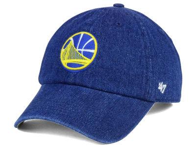 Golden State Warriors '47 NBA All Denim '47 CLEAN UP Cap