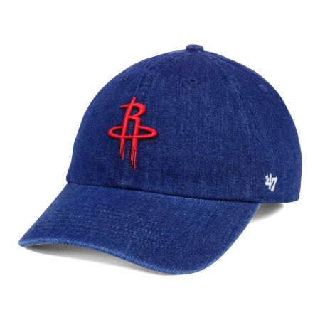 Houston Rockets '47 NBA All Denim '47 CLEAN UP Cap
