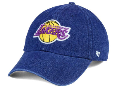 Los Angeles Lakers '47 NBA All Denim '47 CLEAN UP Cap