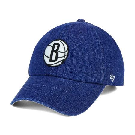 Brooklyn Nets '47 NBA All Denim '47 CLEAN UP Cap
