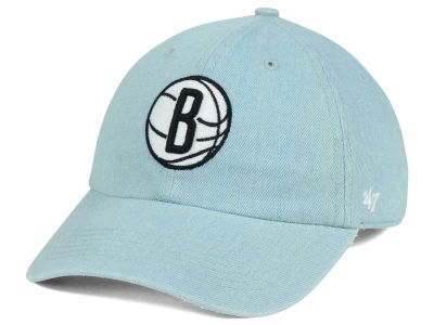Brooklyn Nets '47 NBA All Denim '47 CLEAN UP Cap