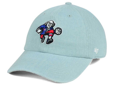 Philadelphia 76ers '47 NBA All Denim '47 CLEAN UP Cap