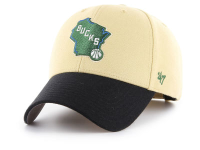 Milwaukee Bucks '47 NBA Wool '47 MVP Cap