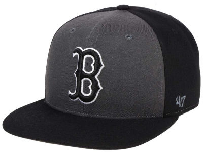 Boston Red Sox '47 MLB Black Sure Shot Accent Snapback Cap