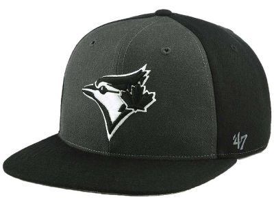 Toronto Blue Jays '47 MLB Black Sure Shot Accent Snapback Cap