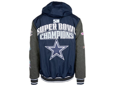 Dallas Cowboys NFL Men's Top Brass Commemorative Jacket