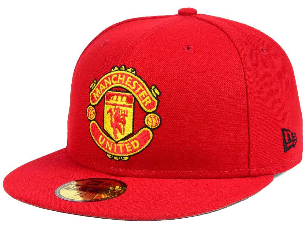 73b75a080e8 Manchester United New Era English Premier League Basic 59FIFTY Cap ...
