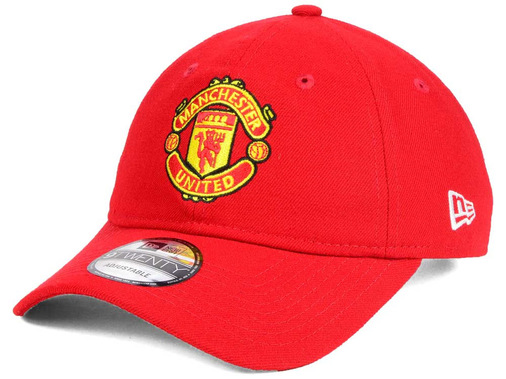Manchester United New Era EPL Basic 9TWENTY Strapback Cap  716d3f0ab3b