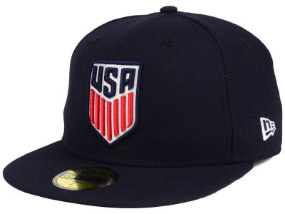 USA New Era Crest w/ Flag 59FIFTY Cap