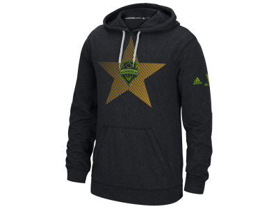 Seattle Sounders FC adidas 2016 MLS Cup Champ Logo Crest Star Hoodie