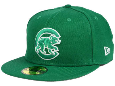 Chicago Cubs New Era MLB 2016 World Series St. Patrick's Day 59FIFTY Cap