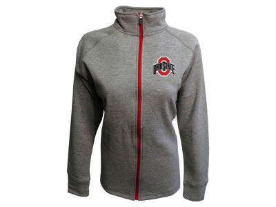Ohio State Buckeyes J America NCAA Women's Raschel Full Zip Jacket