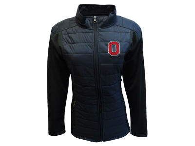 J America NCAA Women's Quilted Puffer Jacket