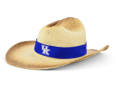 Kentucky Wildcats Top of the World NCAA Outlaw Cowboy Straw Hat
