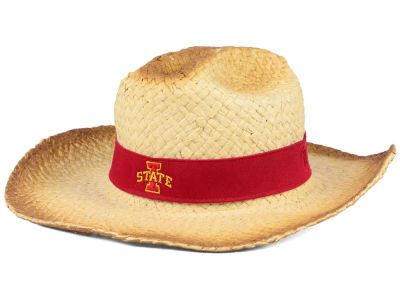 Iowa State Cyclones Top of the World NCAA Outlaw Cowboy Straw Hat