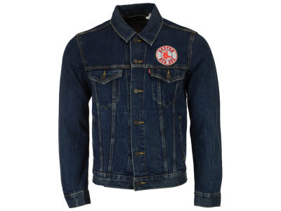 Boston Red Sox Levi's MLB Men's Denim Trucker Jacket