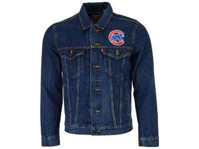 Chicago Cubs Levi's MLB Men's Denim Trucker Jacket
