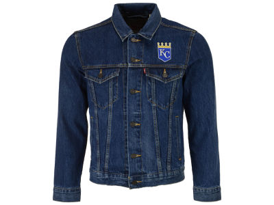 Kansas City Royals Levi's MLB Men's Denim Trucker Jacket