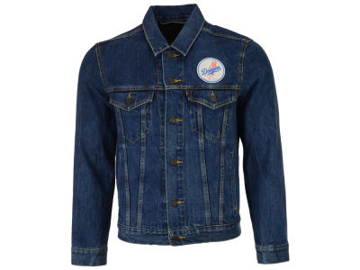 Los Angeles Dodgers Levi's MLB Men's Denim Trucker Jacket